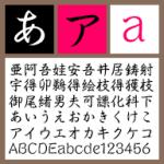 セイビシバM【Win版TTフォント】【行書体】【手書き風】