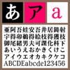 セイビシオミDB 【Mac版TTフォント】【明朝体】