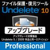 Undelete 10 日本語版 Professional アップグレード